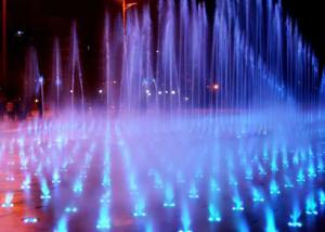 China Outdoor Street Playing Dry Water Fountain , Diy Dancing Fountain CE Approval supplier