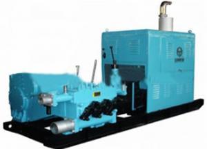 China Portable Triplex Mud Pump Well Drilling 200L/Min - 1500L/Min Discharge on sale
