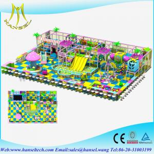 China Hansel wholesale kids soft indoor playground on sale