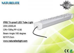 China 0.6 M 20 W  Led Tubes Lights , Led t5 Tubes 2000LM 180 Degree Bus Station on sale