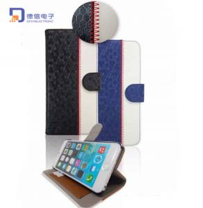 China Newest PU Stand Mobile Case for iPhone 6 (LC-C006) on sale