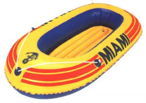 China One person Small Inflatable Fishing Boats with stainless steel Foot pump on sale