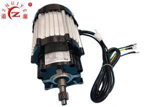 China Square Wave Electric Vehicle Motor , 1.5KW 60V Brushless DC Motors on sale