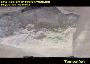 China Human Muscle Growth Steroids Oral Anti Estrogen Tamoxifen Raw Powders Cas 10540-29-1 on sale
