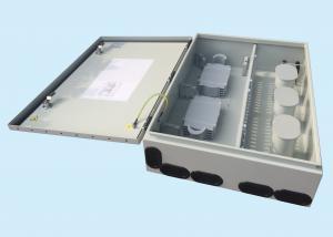 China 96 CORE Fiber Optic Distribution Box Metal Pole Mounted Electrical Box on sale