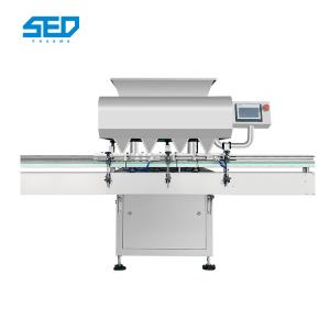 China SED-32S Stainless Steel 18000-54000 Pcs /Min Electronic Soft Gelatin Capsule Counting Machine With Siemens Touch Screen on sale