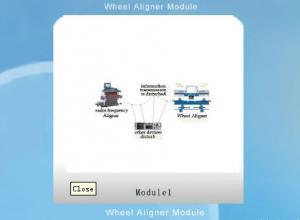China Bluetooth Wifi Module Wheel Aligner Module on sale