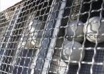 Galvanized Square Wire Netting , Stainless Steel Wire Netting For Chemical Industry