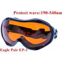 China 355nm UV laser protective glasses / 10.6um CO2 laser safety goggles on sale