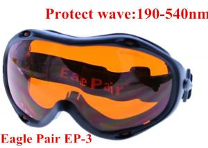 China 355nm UV laser protective glasses / 10.6um CO2 laser safety goggles on sale