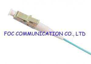 China LC OM3 Simplex Fiber Optic Pigtail With High Concentricity Ceramic Ferrule on sale