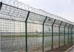 Spiral Razor Airport Security Fence Powder Coated Metal Material Anti Acid Alkali