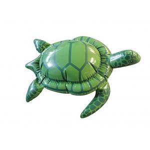 China Leak Proof Flatable Turtle Pool Toy , Animal Inflatable Pool Toys Of Phthalate Free PVC on sale
