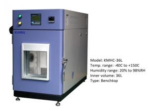 China Benchtop Air Cooled Temperature Humidity Chamber For Lab Testing CE ISO on sale