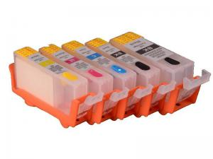 China PGI 650 CLI 651 PGI 750CLI  Canon Replacement Ink Cartridges With Black / Yellow on sale