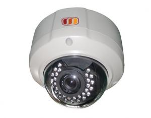 China Megapixel IP IR Vandal Dome Camera on sale