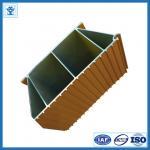 Фасонируйте дизайн деревянный цвет прессовал алюминиевый профиль раздвижной двери