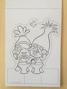 quality kids custom stationery cute trolls drawing sets paper 6mm eva for sale