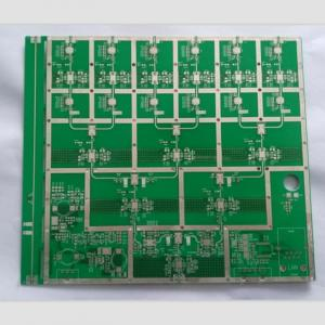 China 4 layers PCB Rogers PCB FR-4 PCB manufacturer mix material multilayer PCB board on sale