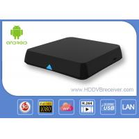 Dual Channel WIFI Blutooth Xbmc Android Smart TV Box Media Player 2.4GHz / 5.0GHz