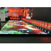 China Full color Anti-collision  capacity/P8.928 LED Tile Screen Led Dance Floor on sale
