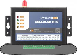 China Lower Cost SMS Control System,RTU CWT5010,Connect PLC Equipments,SMS Reporting and Dialing on sale