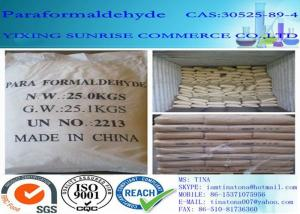 China Paraformaldehyde Industrial Organic Chemicals CAS 30525-89-4 White Granular Solid supplier
