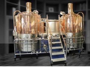 China Commercial Beer Brewing Equipment 10HL, 20HL, 30HL, 40HL, 50HL Beer business on sale