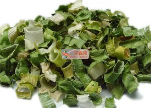 China Typical Dehydrated Vegetable Flakes / White And Green AD Dried Leek on sale