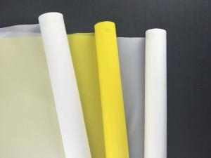 China High Tension 100% Plain Weve Polyester Silk Screen Printing Mesh Fabric Roll For PCB Printing on sale