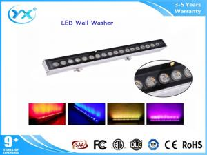 China 24W Aluminum DMX control outdoor wall wash lighting led for decoration on sale