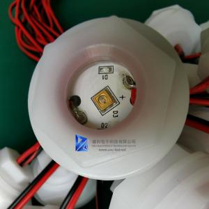 China Water Sterilizer UVC LED Lamp Module DC 24V With Cable XH2.54 2P Terminal on sale