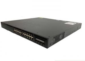China SFP Managed Gigabit Ethernet Switch CISCO Catalyst 3650 WS-C3650-24TD-S on sale