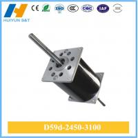 China double shaft dc motor with encoder D59d-2450-3100 on sale