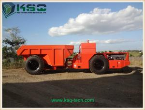 China Hydropower Tunneling Low Profile Dump Truck For Medium Size Rock Excavation on sale