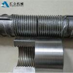 Tapered Thread Steel Bar Mechanical Rebar Couplers 12mm - 50mm SGS Certification