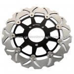 acero de la aleación de aluminio de los frenos de disco del freno de la motocicleta de 290m m GSXF 750 GSX 600 F