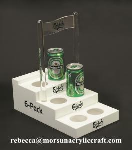 China High quality acrylic beer stand display holder from China supplier on sale