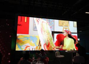 China Luxury 2mm Led Video Screens With Aluminium Cabinet , Indoor Led Display Rental on sale