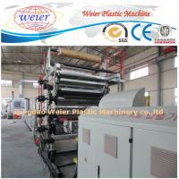 China ridid pvc lamination sheet pvc stone marble pvc sheet machine on sale