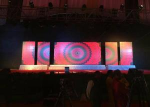 SMD2121 Led Screen Stage Backdrop , Led Video Wall Rental P3 91 For