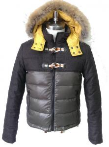 China Breathable Mens Coats Jackets , Hooded Padded Jacket For Adult on sale