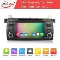 Capacitive Touch Screen Car Radio 2 Din Car Raido For BMW E46 Hui Fei Brand Car DVD Player