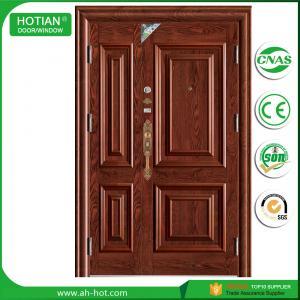 China Kerala front door designs photo steel single main door design white steel gate on sale