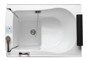 China 40'' Length Walk In Tub Shower Combo , Safety Anti Slip Small Walk In Tub on sale