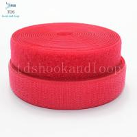 China Custom Hook And Loop Material 3/4 Inch  1 Inch 2 Inch For Clipping Garment on sale
