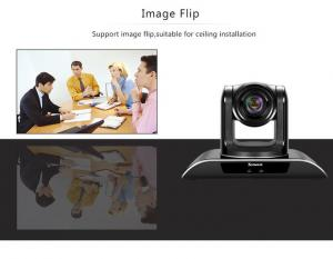 China Smart High Definition 3x PTZ Wide Angle Conference Room Camera With Voting Function on sale
