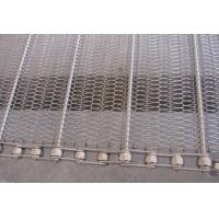 SS wire mesh belts slat band conveyor belts chain drive wire belts