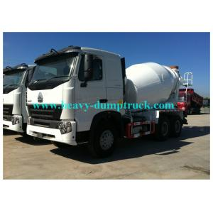 China HOWO 12m3 concrete mixer truck with Eton or Bonfiglioli pump / reduction box / Motor on sale