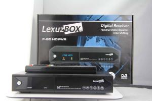China Lexuzbox f90 hd cable set top box on sale